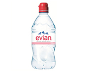 EVIAN NATURAL SPRING WATER AGUA MINERAL SIN GAS 750ML